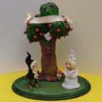 The Gnomes cake topper